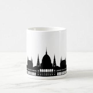 Mug architecture de palais du parlement de Budapest