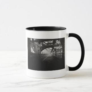 Mug Architecture de pont de Williamsburg - New York