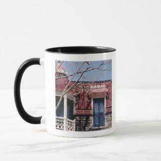 Mug Architecture démodée avec le balcon