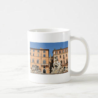 Mug Architecture italienne dans Piazza Navona, Rome,