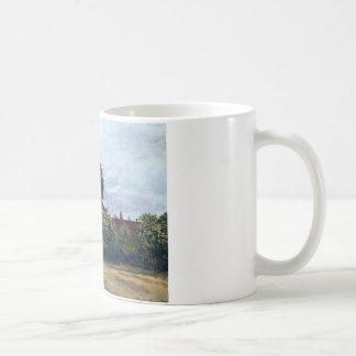 Mug Argenteuil, l'hospice par Claude Monet