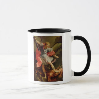 Mug Arkhangel Michael défaisant Satan