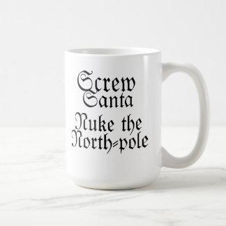 Mug Arme nucléaire de Père Noël de vis le Pôle Nord !