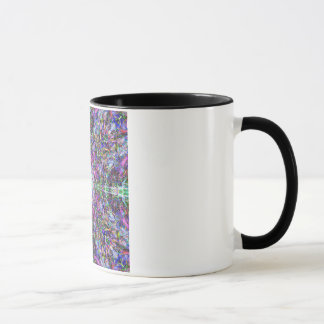 Mug Armure colorée abstraite de mandala