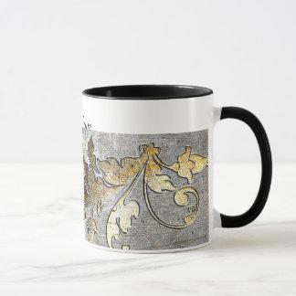 Mug armure médiévale de tournoi de chevalier