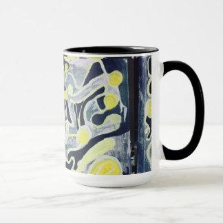 Mug Art contemporain pour des articles de cuisine