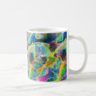"""Mug """"Art numérique des sirènes"""" (motif de répétition)"""
