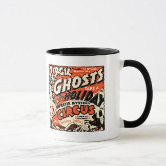 Mug Art vintage d'affiche d'exposition de spectre -