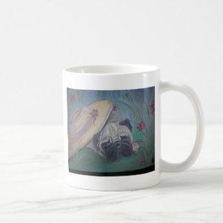 Mug Articles de carlin - art par Lisa Stanley