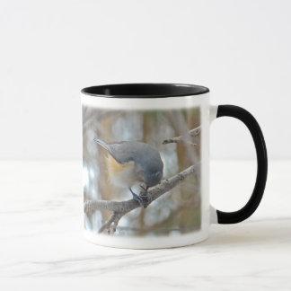 Mug Articles de mésange tuftée (Baeolophus bicolore)