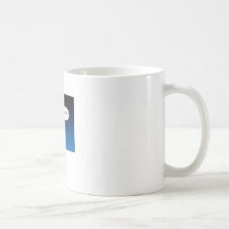 Mug Astronaute de flottement libre dans l'espace
