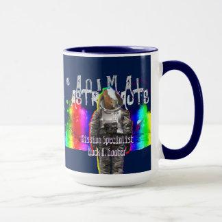 Mug Astronautes d'animal de chèvre de galaxie