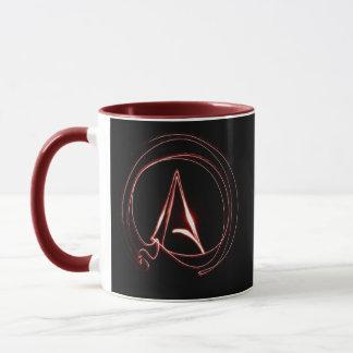Mug Athée en rouge
