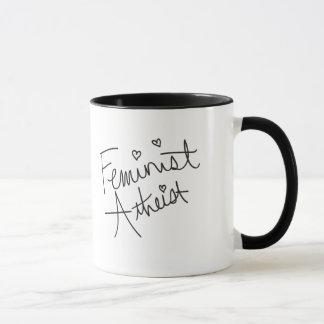 Mug Athée féministe