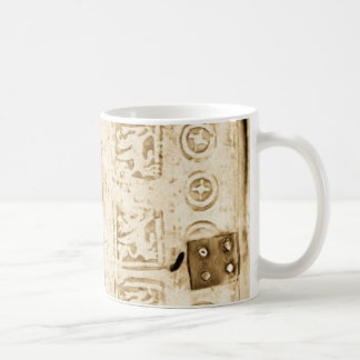 Mug Attache antique de cuir de relief
