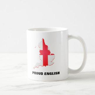 Mug Attaquez avec l'anglais fier de carte et de textes