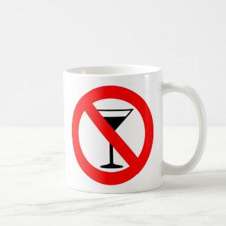 Mug Aucun signe d'alcool
