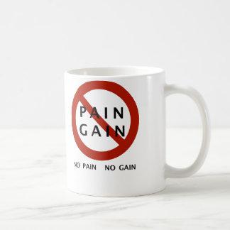 Mug Aucune douleur aucun gain avec la légende