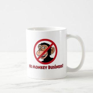 Mug Aucunes affaires de singe