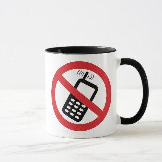 Mug Aucuns téléphones portables