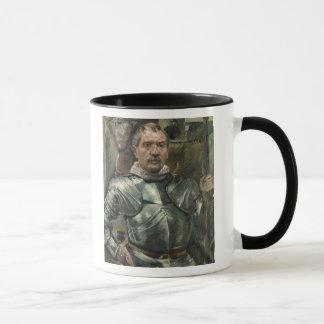 Mug Autoportrait dans l'armure, 1914
