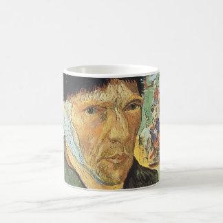 Mug Autoportrait, oreille bandée par Vincent van Gogh