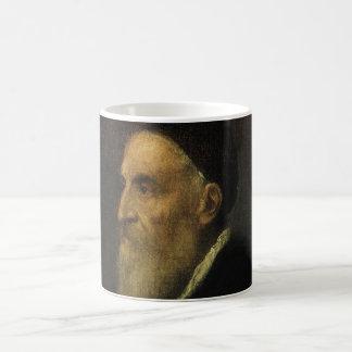 Mug Autoportrait par Titian, art de Renaissance