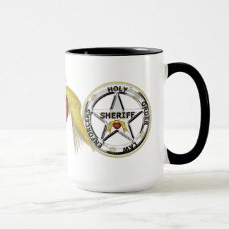 Mug Autorités de loi d'ordre saint de service secret