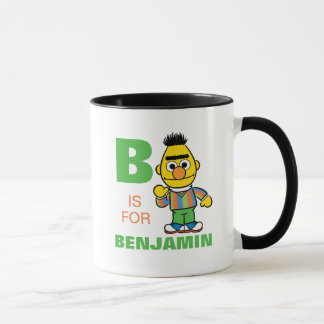 Mug B est pour Bert que   ajoutent votre nom
