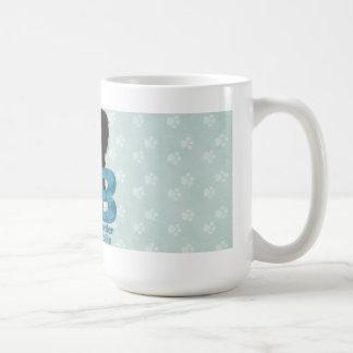 Mug B est pour border collie