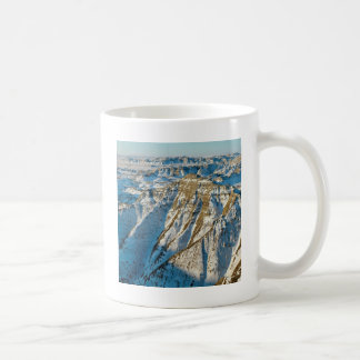 Mug Bad-lands de parc en hiver Dakota