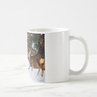 Mug Baisers de deux cerfs communs