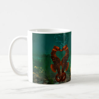 Mug baisers des hippocampes