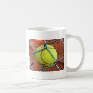 Mug Balle de tennis coincée !