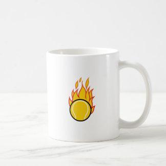 Mug Balle de tennis flamboyante