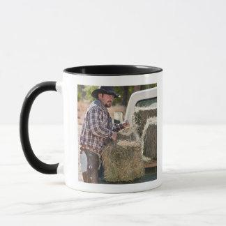 Mug Balles de levage de cowboy de foin