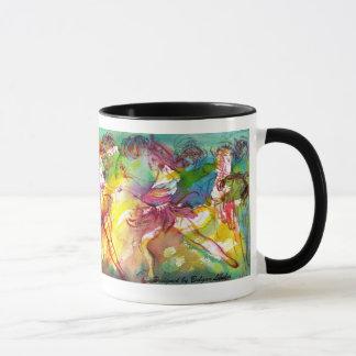 Mug BALLET de CARNAVAL/mascarade vénitienne, danse,