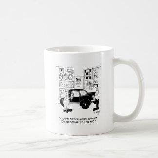 Mug Bande dessinée 6768 de mécanicien
