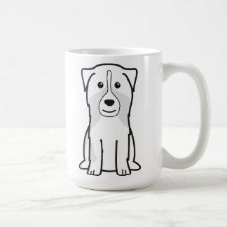 Mug Bande dessinée australienne de chien de berger