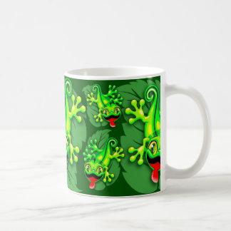 Mug Bande dessinée de bébé de lézard de Gecko