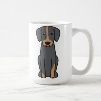 Mug Bande dessinée de chien de Brandlbracke