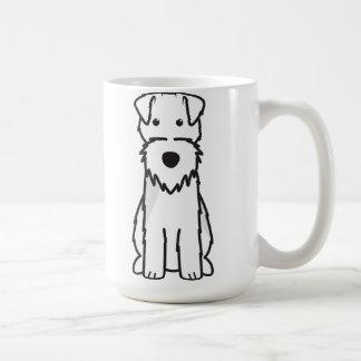 Mug Bande dessinée de chien de gallois Terrier