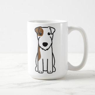 Mug Bande dessinée de chien de Russell Terrier de