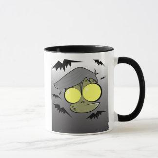 Mug bande dessinée de zombi