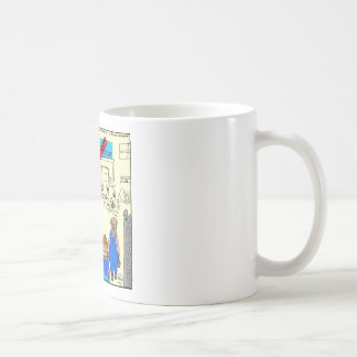 Mug bande dessinée fermée d'usine de 612 thons