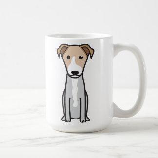 Mug Bande dessinée hawaïenne de chien de POI