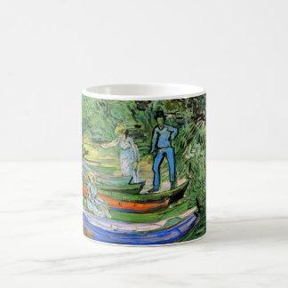 Mug Banque de l'Oise chez Auvers par Vincent van Gogh