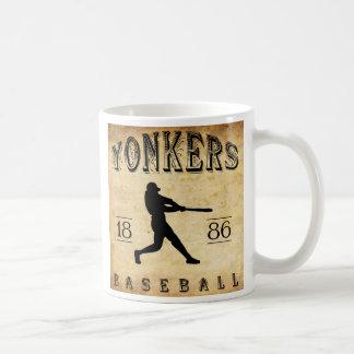 Mug Base-ball 1886 de Yonkers New York