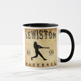 Mug Base-ball 1891 de Lewiston Maine