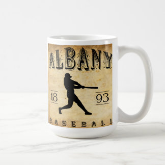 Mug Base-ball 1893 d'Albany Orégon